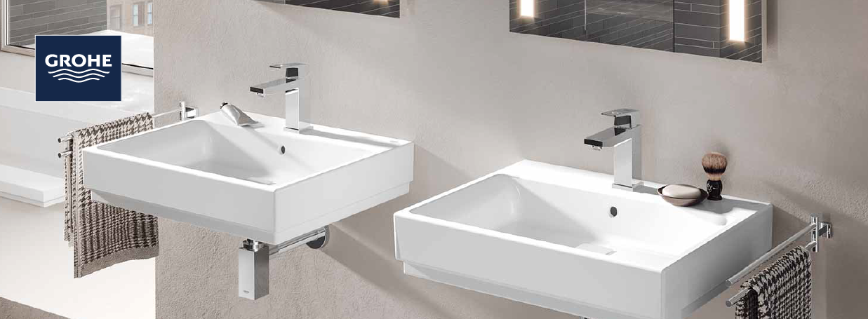 Pillar Taps from GROHE at xTWO