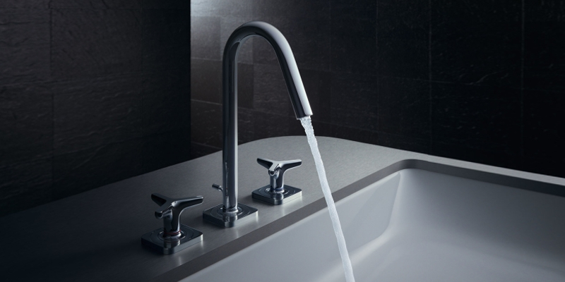 Axor Citterio M washbasin faucet three-hole